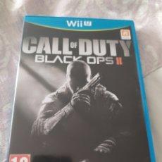 Nintendo Wii U: CALL OF DUTY BLACK OPS II WII U. Lote 279354958