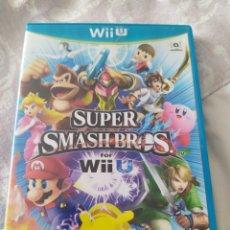 Nintendo Wii U: SMASH BROS WII U. Lote 279355183