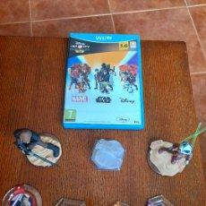 Nintendo Wii U: WII U DISNEY INFINITY NINTENDO WIIU + ALGUNAS FIGURAS STARWARS. Lote 285085583