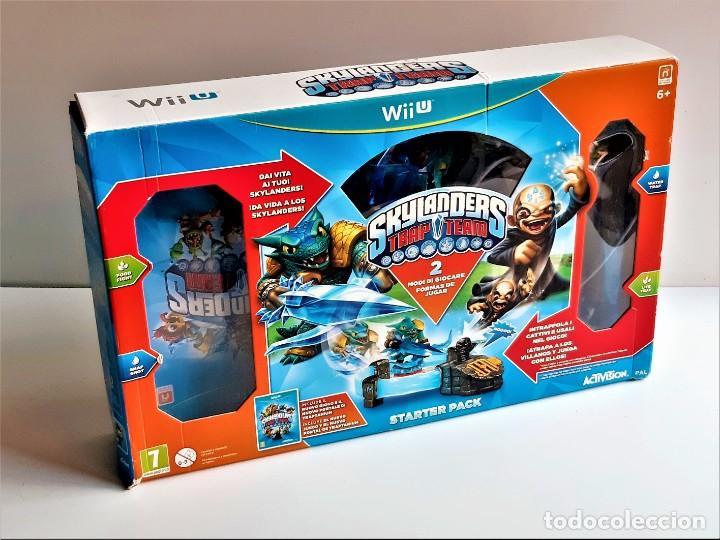 SKYLANDERS WII U SET DE FIGURAS Y OTROS (Juguetes - Videojuegos y Consolas - Nintendo - Wii U)