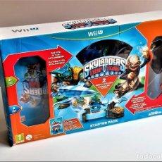Nintendo Wii U: SKYLANDERS WII U SET DE FIGURAS Y OTROS. Lote 285688153