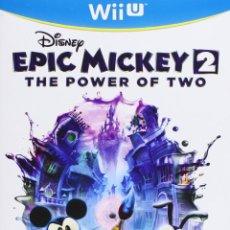 Nintendo Wii U: EPIC MICKEY 2 EL RETORNO DE DOS HÉROES - WII U. Lote 285828543