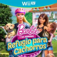 Nintendo Wii U: BARBIE Y SUS HERMANAS REFUGIO PARA CACHORROS - WII. Lote 285828793