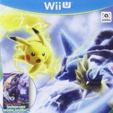Nintendo Wii U: POKKEN TOURNAMENT + TARJETA AMIIBO MEWTWO OSCURO -. Lote 285828833