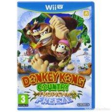 Nintendo Wii U: DONKEY KONG COUNTRY TROPICAL FREEZE - WII U. Lote 285828873