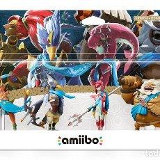 Nintendo Wii U: PACK AMIIBO (DARUK, MIPHA, REVALI, URBOSA) - WII U. Lote 285829038