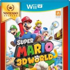Nintendo Wii U: SUPER MARIO 3D WORLD SELECTS - WII U. Lote 285829063