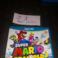 Nintendo Wii U: JUEGO SEGUNDA MANO WII U SUPER MARIO 3D WORLD COMPLETO. Lote 286200798