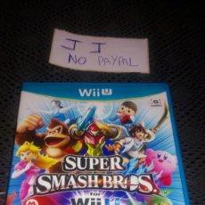 Nintendo Wii U: JUEGO SEGUNDA MANO WII U SUPER SMASH BROS COMPLETO. Lote 286200883