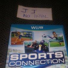 Nintendo Wii U: JUEGO SEGUNDA MANO WII U SPORTS CONNECTION COMPLETO. Lote 286201023