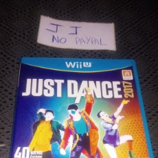 Nintendo Wii U: JUEGO SEGUNDA MANO WII U JUST DANCE 2017 COMPLETO. Lote 286201363