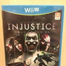 Nintendo Wii U: INJUSTICE: GODS AMONG US - WII U (2ª MANO - BUENO). Lote 288425608
