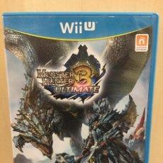 Nintendo Wii U: MONSTER HUNTER 3 ULTIMATE - WII U (2ª MANO - BUENO). Lote 288425613