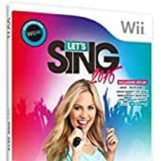Nintendo Wii U: LETS SING 2016 + 2 MICROS - WII U (2ª MANO - BUENO). Lote 288425623