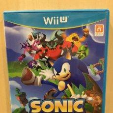 Nintendo Wii U: SONIC LOST WORLD - WII U (2ª MANO - BUENO). Lote 288425633