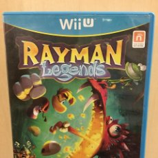 Nintendo Wii U: RAYMAN LEGENDS - WII U (2ª MANO - BUENO). Lote 288425643
