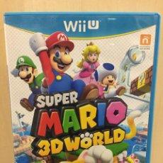 Nintendo Wii U: SUPER MARIO 3D WORLD - WII U (2ª MANO - BUENO). Lote 288425648