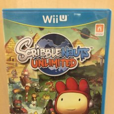 Nintendo Wii U: SCRIBBLENAUTS UNLIMITED - WII U (2ª MANO - BUENO). Lote 288425653