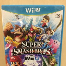 Nintendo Wii U: SUPER SMASH BROS - WII U (2ª MANO - BUENO). Lote 288425673