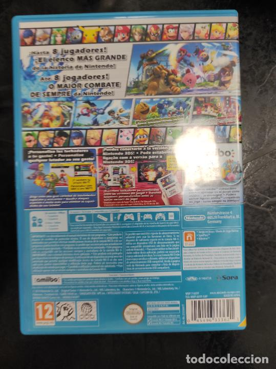 Nintendo Wii U: WII U SUPER SMASH BROS NINTENDO WIIU PAL ESP - Foto 3 - 288565213