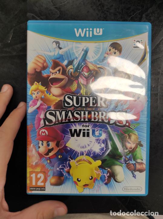 WII U SUPER SMASH BROS NINTENDO WIIU PAL ESP (Juguetes - Videojuegos y Consolas - Nintendo - Wii U)