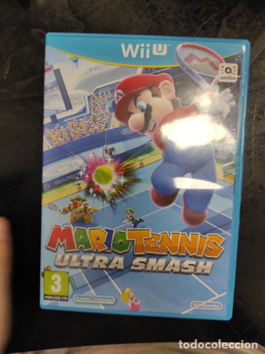 MARIO TENNIS ULTRA SMASH - WII U (Juguetes - Videojuegos y Consolas - Nintendo - Wii U)