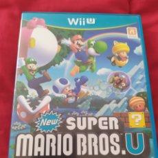 Nintendo Wii U: NEW SUPER MARIO BROS WII U. Lote 290014508