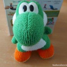 Nintendo Wii U: AMIIBO PELUCHE MEGA YARN YOSHI CON CAJA. Lote 290046778