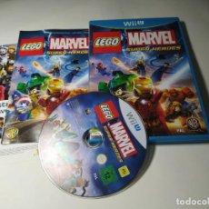 Nintendo Wii U: LEGO MARVEL SUPER HEROES ( NINTENDO WII U - PAL - ESP). Lote 290840373