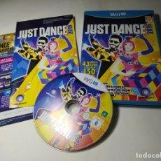 Nintendo Wii U: JUST DANCE 2016 ( NINTENDO WII U - PAL - ESP). Lote 290841113
