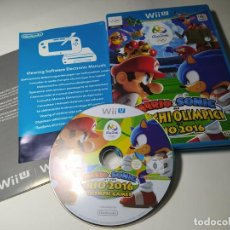 Nintendo Wii U: MARIO & SONIC JJOO RIO 2016 ( NINTENDO WII U - PAL - ITALIA) CON ESPAÑOL!. Lote 290841303
