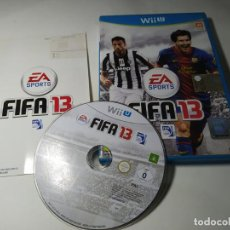 Nintendo Wii U: FIFA 13 ( NINTENDO WII U - PAL - ITALIA) CON ESPAÑOL!. Lote 290841363