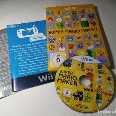 Nintendo Wii U: SUPER MARIO MAKER ( NINTENDO WII U - PAL - ITALIA) CON ESPAÑOL!. Lote 290841478