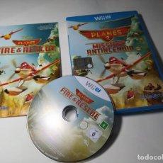 Nintendo Wii U: AVIONES 2 ( NINTENDO WII U - PAL - ITALIA) CON ESPAÑOL!. Lote 290841583