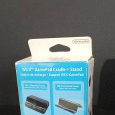 Nintendo Wii U: WIIU. ESTACIÓN DE CARGA Y SOPORTE DE CONSOLA,. Lote 292526633