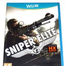 Nintendo Wii U: JUEGO WIIU SNIPER ELITE 2 NUEVO PRECINTADO. Lote 293891443