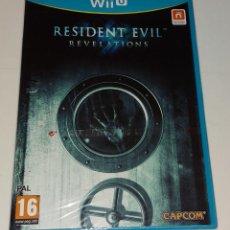 Nintendo Wii U: RESIDENT EVIL REVELATIONS NINTENDO WII U PAL ESPAÑA PRECINTADO CAPCOM. Lote 294444723
