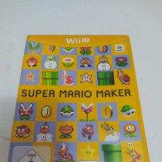 Nintendo Wii U: JUEGO SÚPER MARIO MAKER. Lote 294568878