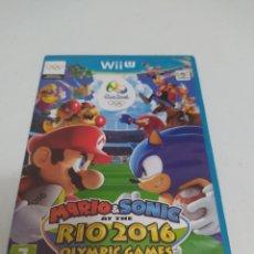 Nintendo Wii U: JUEGO MARIO & SONIC AT THE RÍO 2016 OLÍMPIC GAMES. Lote 294569758