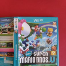 Nintendo Wii U: NEW SUPER MARIO BROS U WIIU. Lote 295814248