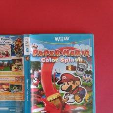 Nintendo Wii U: PAPER MARIO: COLOR SPLASH WIIU. Lote 295814713