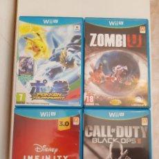Nintendo Wii U: PACK JUEGOS NINTENDO WII U COMPLETOS PAL. Lote 295854743