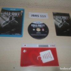 Nintendo Wii U: WII U - CALL OF DUTY BLACK OPS II , PAL ESPAÑOL , COMPLETO. Lote 295947473