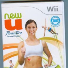 Nintendo Wii U: NEW U FITNESS FIRST PERSONAL TRAINER WII @ P.V.P 29,99 € @. Lote 26875729