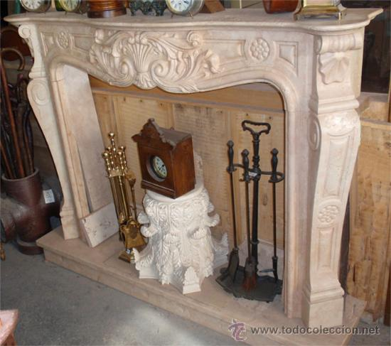 Frente de chimenea tallado en marmol rosa perl comprar - Frentes de chimeneas ...