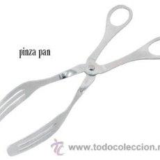Nuevo: PINZAS PARA PAN EN ACERO INOX. ARTICULO NUEVO.. Lote 26950211