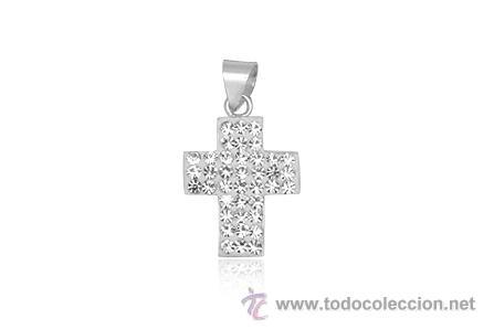 e99c054f949 Colgante cruz plata ley 925 cristal swarovski - Sold through Direct ...