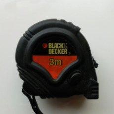 Nuevo: METRO FLEXOMETRO BLACK-DECKER - 3 METROS - NUEVO. Lote 28121210