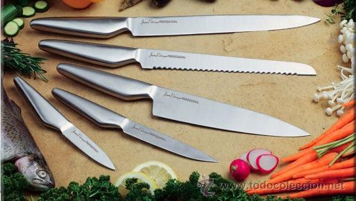 Juego de 5 cuchillos de cocina profesionales de comprar art culos nuevos en todocoleccion - Cuchillos para decorar fruta ...