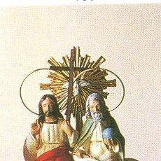 Nuevo: IMAGEN DE LA SANTISIMA TRINIDAD DE 20 CM NUEVA, DE YESO Y PINTADA A MANO. Lote 143413368